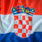 bdr bandeiras e mastros paises croácia impressa
