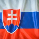 bdr bandeiras e mastros paises eslováquia impressa