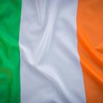 bdr bandeiras e mastros paises irlanda impressa