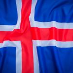 bdr bandeiras e mastros paises islândia impressa