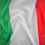 bdr bandeiras e mastros paises itália impressa