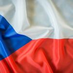 bdr bandeiras e mastros paises república checa impressa