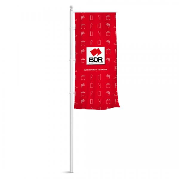 bdr bandeiras e mastros pendão personalizado comunicação marketing
