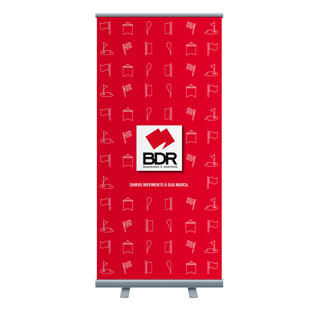 bdr bandeiras e mastros roll up comunicação marketing