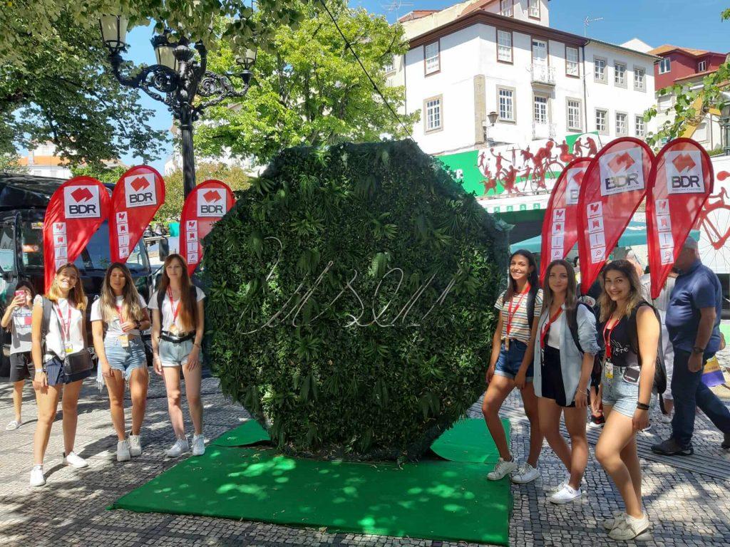volta a portugal em bicicleta santander bdr ativação marca