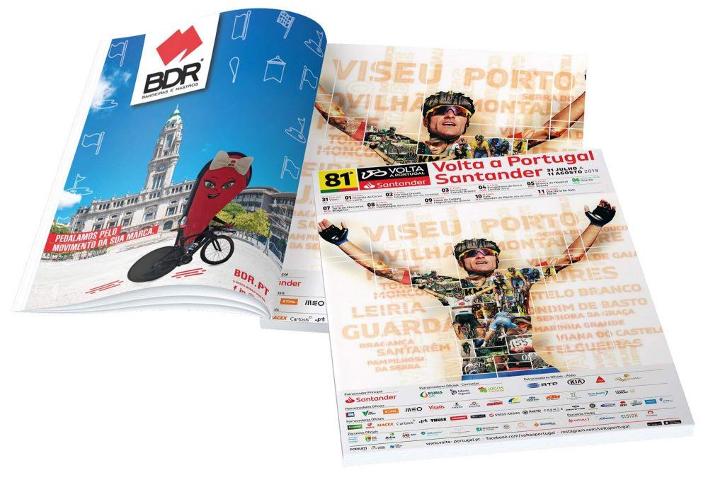 volta a portugal em bicicleta santander bdr bandeiras e mastros livro tecnico